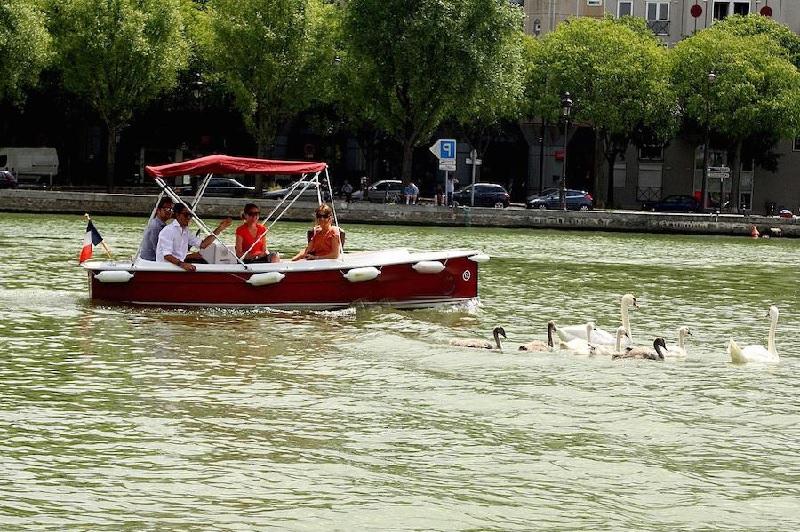 Rallye sur le Canal Parisien de l'Ourcq 9