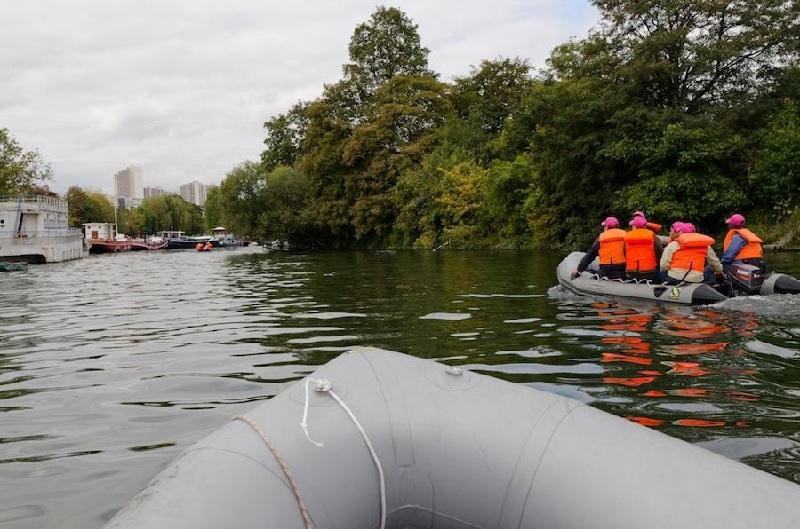 Rallye Zodiac sur la Seine 2