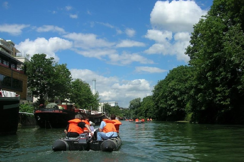 Rallye Zodiac sur la Seine 4