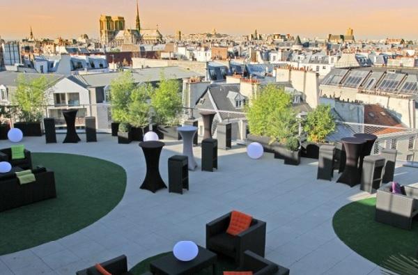 Soirée cocktails sur terrasse panoramique 2