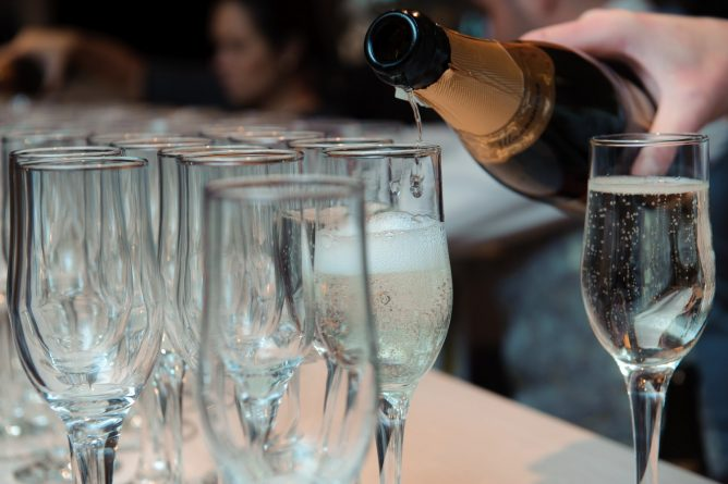 Soirée dégustation de Champagne