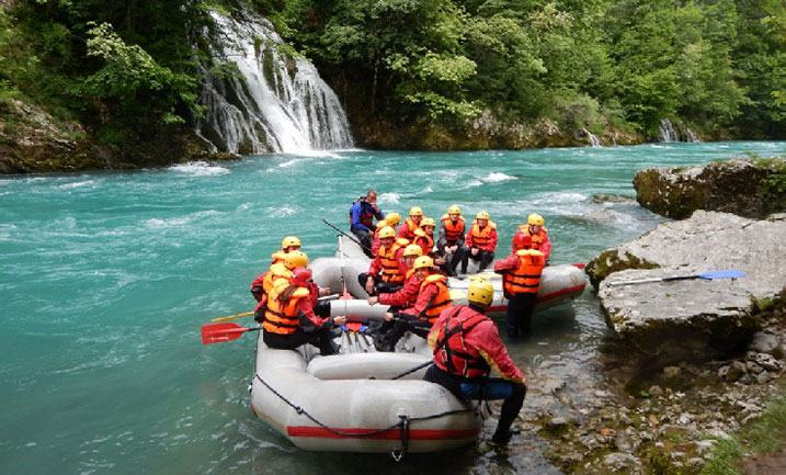 rafting Montenegro nature