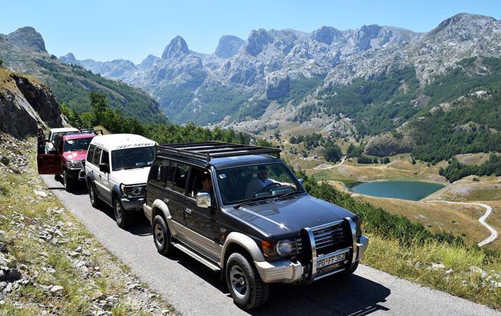 Rallye 4*4 Montenegro dans les montagnes