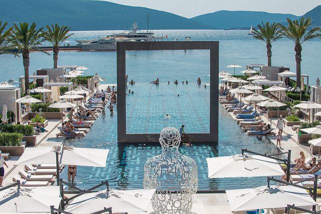 hotel 4* montenegro piscine et vu lac