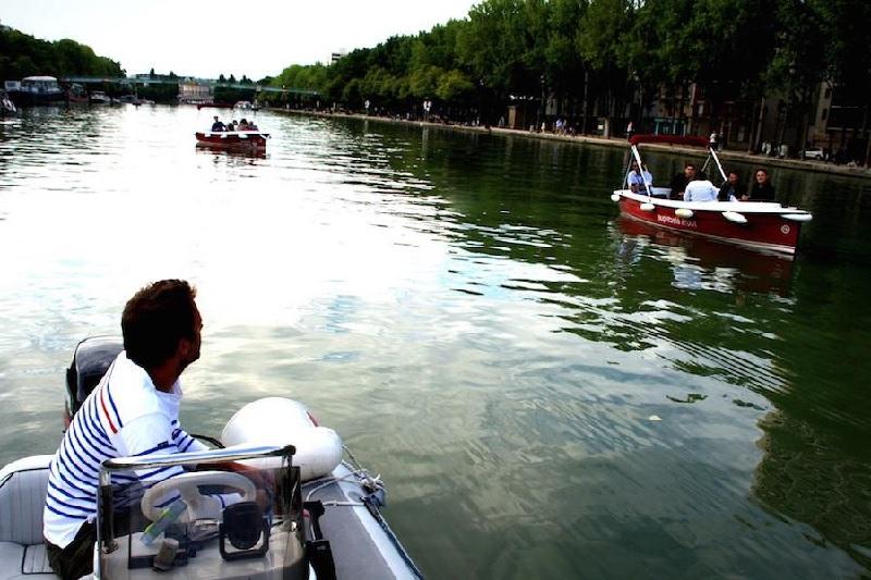 Rallye sur le Canal Parisien de l'Ourcq 7