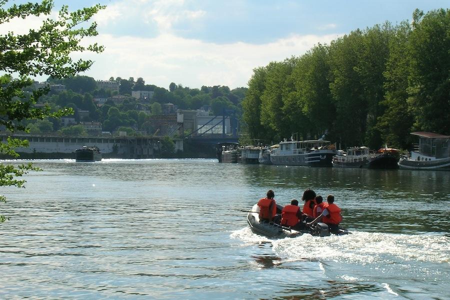 Team building et soirée sur la Seine